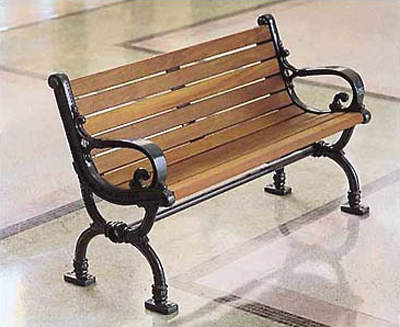 TD-3, a Classic Victorian Bench
